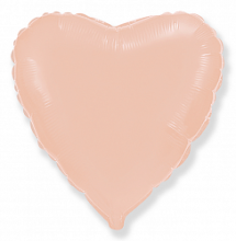 """Фигура """"Сердце"""", розовое золото, 18"""", Испания"""