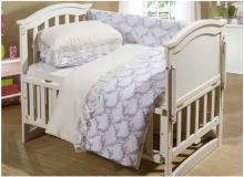 Постельное белье с одеялом и подушкой Бамбини для новорожденных Арт.1120/1