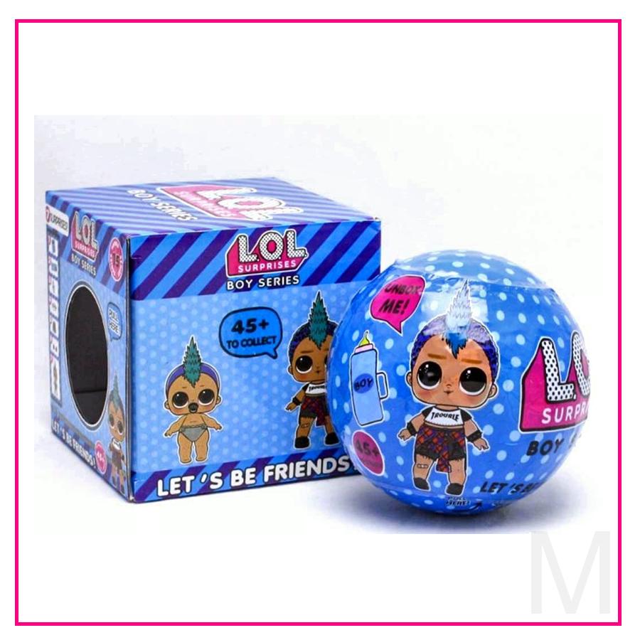 Кукла в шаре LOL Boy Series