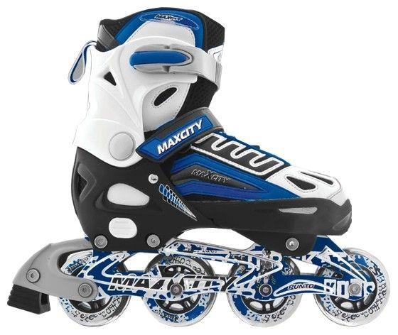 Ролик.коньки MaxCity PUNTO X-208 р.37-40 (синий)