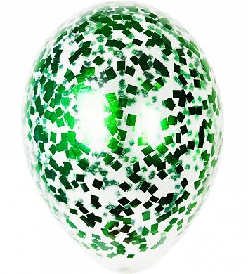 Конфитти зеленый