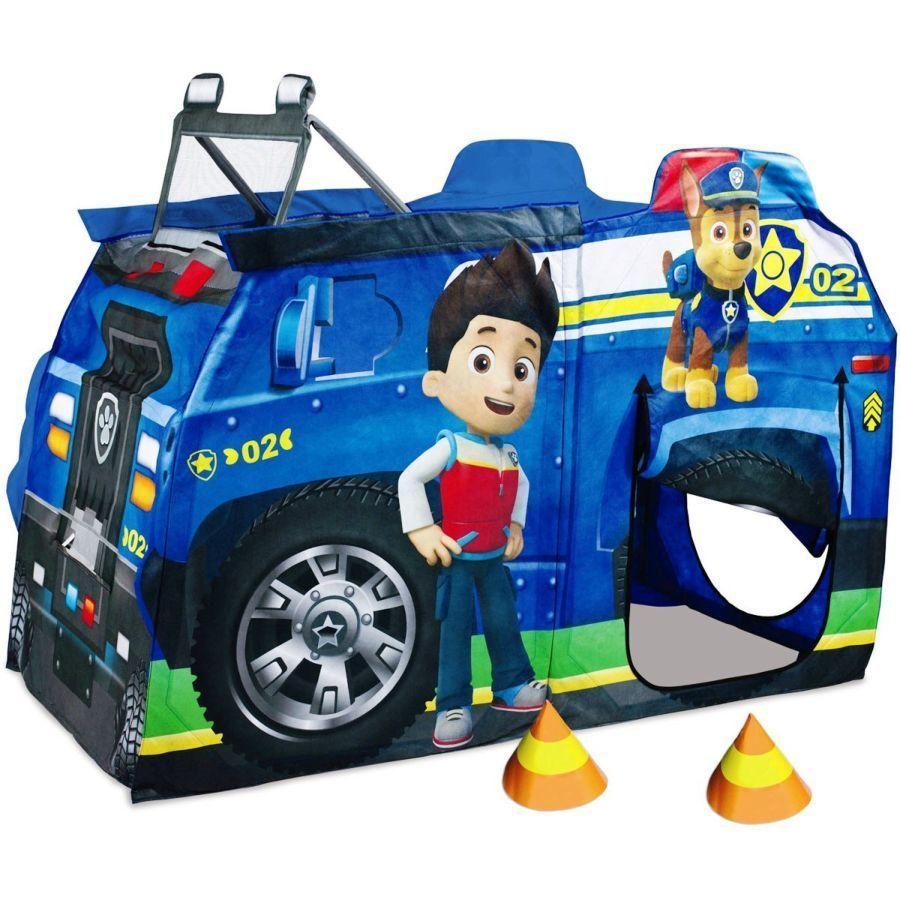 Палатка детская игровая полицейская машинка HF088-A