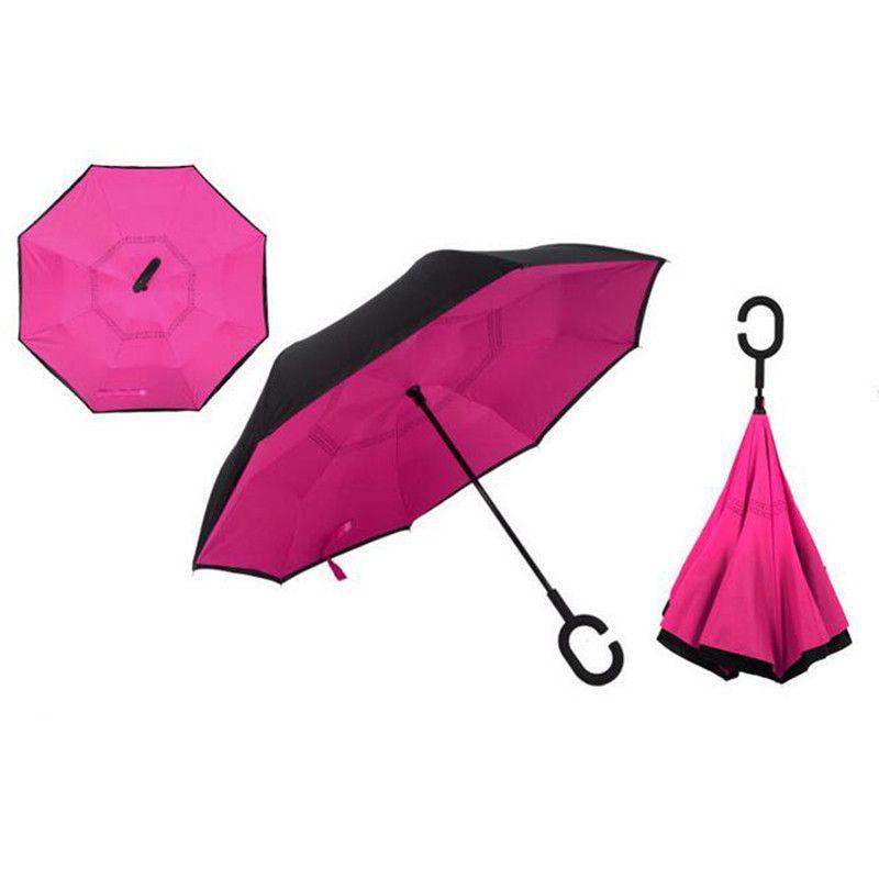 Зонт Наоборот, однотонный