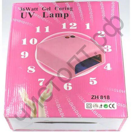 Лампа ультрафиолетовая Jiadi 36W JD 818 для маникюра