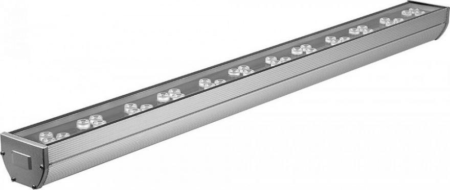 Feron Светодиодный линейный прожектор, 36LED RGB, 1000*85*65, 36W 85-265V, IP65, LL-890 32158
