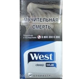 Сигареты West compact Deep Blue
