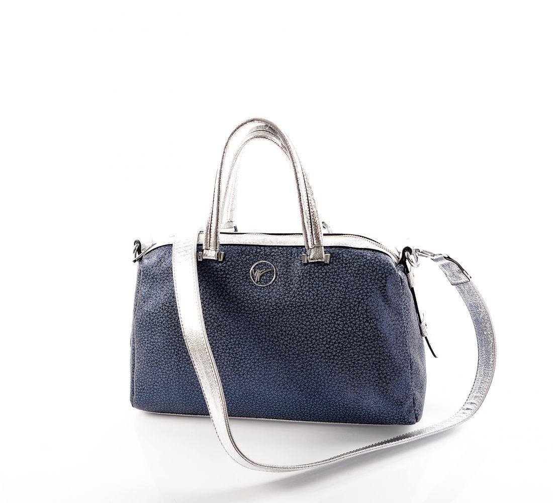 Классическая женская сумка Velina Fabbiano (синяя)