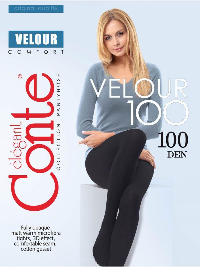 колготки CONTE Velour 100