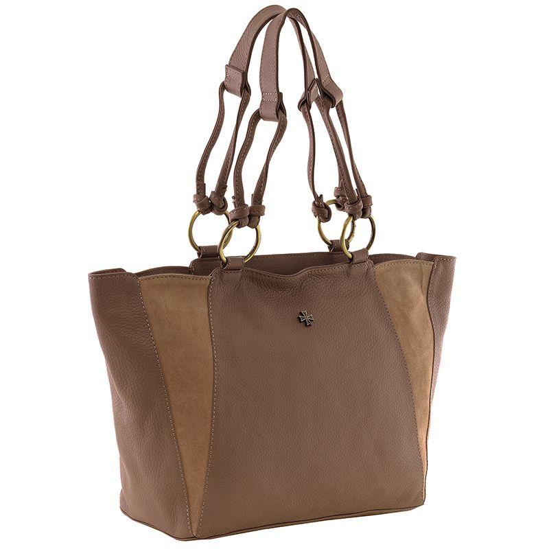 Женская кожаная сумка Narvin 9936-N.Polo Old Rose