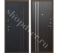 Металлические двери трехконтурные