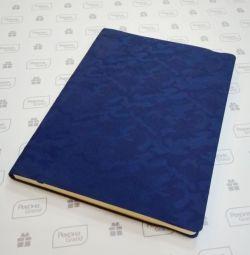 темно синие блокноты с паттерном камуфляж