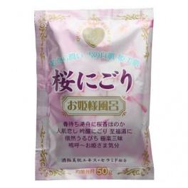 "KJ Соль для принятия ванны ""Novopin Princess Bath time"" с ароматом сакуры 50г"