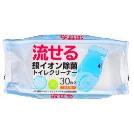 L-D Влажные салфетки (водораств., с антибакт. эф. д/уборки в туалете, ар. лимона) 30шт