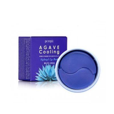 Набор патчей для век гидрогелевых PETITFEE АГАВА Agave Cooling Hydrogel Eye Mask, 60 шт