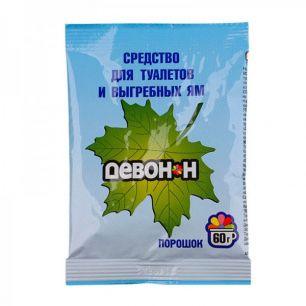 Очиститель ДЕВОН-Н® септиков, туалетов и биотуалетов 60г