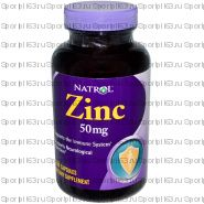 Natrol  Zinc High Absorption 60 табл(жеват)
