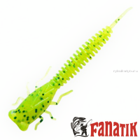 Мягкие приманки Fanatik X-Larva 4'' 100 мм / упаковка 5 шт / цвет: 022