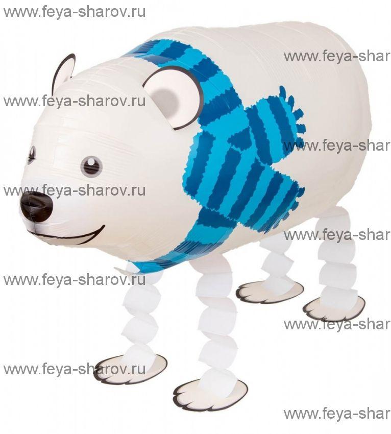 Шар-Ходячка Полярный медведь 71 см