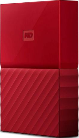 "Внешний HDD WD 4 TB My Passport красный, 2.5"", USB 3.0"