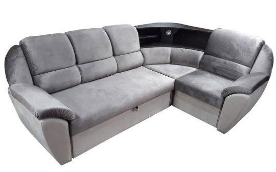 """Угловой диван """"Мираж с баром"""""""