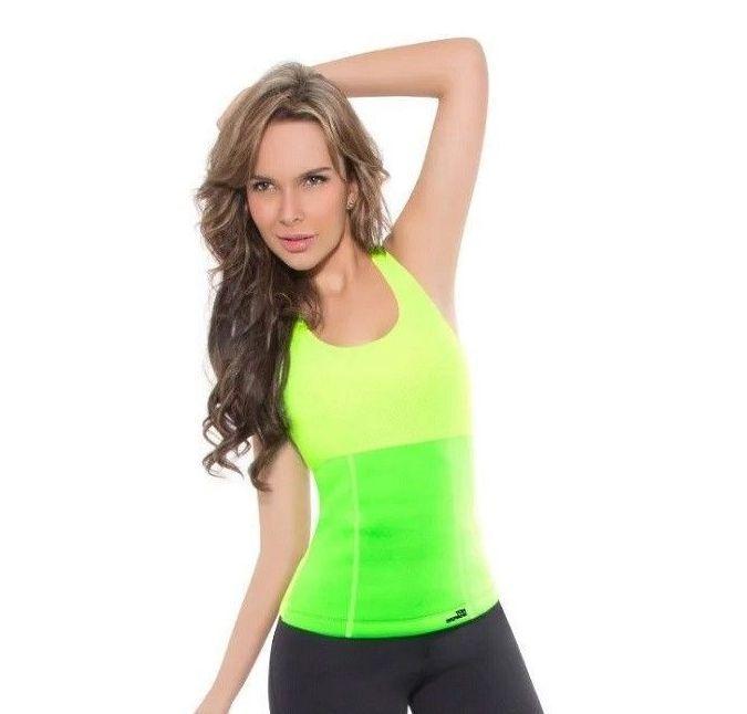 Майка для похудения Hot Shapers (Хот Шейперс), Цвет Зеленый.