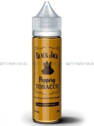 "Е-жидкость Black jack ""Peppery tobacco"", 60 мл."