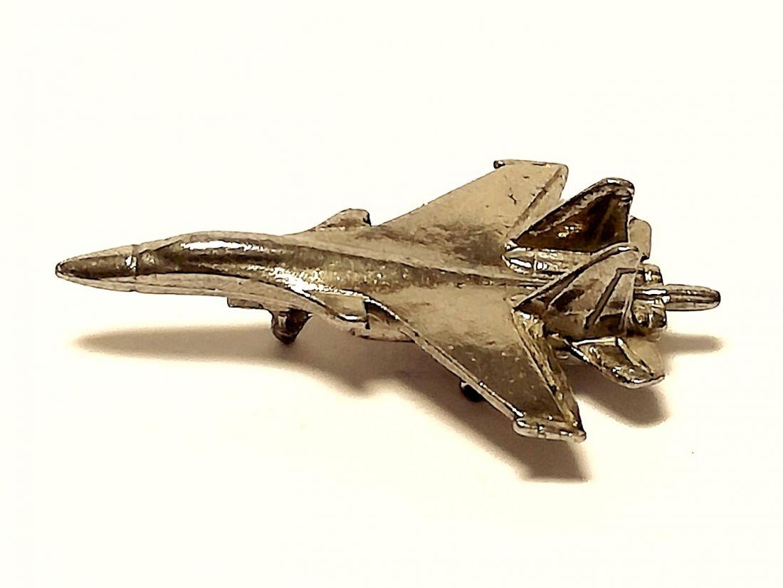 Фигурка Самолёт СУ - 35 олово