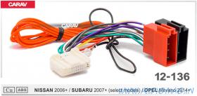 Carav 12-136 (iso Nissan 2006+/ Subaru 2007+/ Opel Movano 2014+)