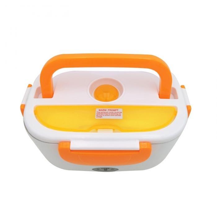 Электрический Ланч-Бокс С Подогревом От Сети 220 В, Цвет Оранжевый