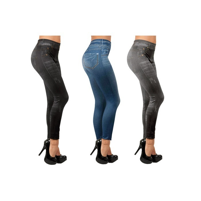 Леджинсы Slim Jeggings 3 цвета (L-XL)