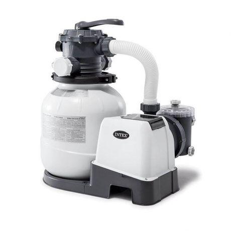 Песочный фильтр насос Intex 26646, 6 000 лч, 23 кг, New 2019