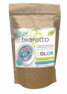 Концентрированный стиральный порошок «BIORETTO» для цветного белья, 520 гр