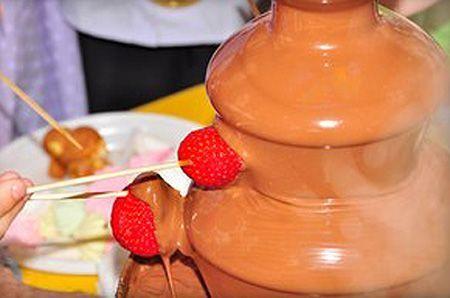 фондю ярославль, шоколадный фонтан, заказать