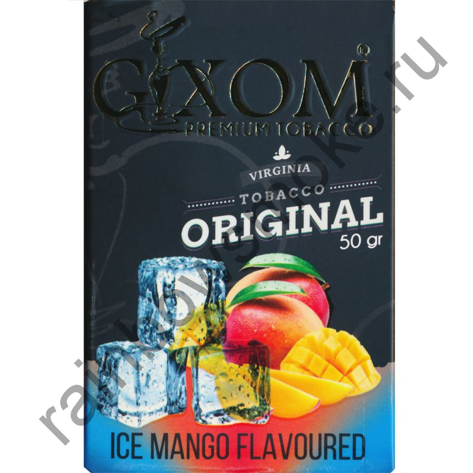 Gixom Original series 50 гр - Ice Mango (Лед Манго)