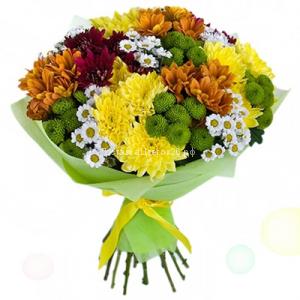 Букет Цветы России