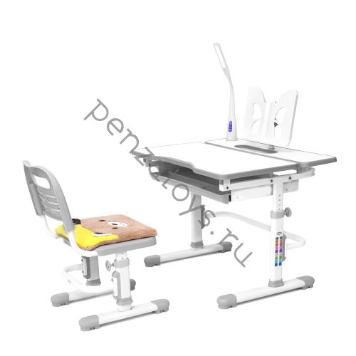 Растущая парта+стул Rifforma Comfort-07 с чехлом и подставкой