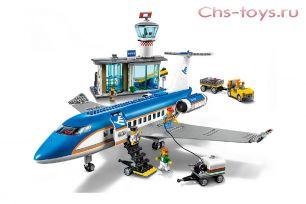 Конструктор LEPIN/QUEEN Cities Пассажирский терминал аэропорта 02043/82031 (Аналог LEGO City 60104) 718 дет