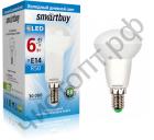 Светодиодная (LED) Лампа Smartbuy R50 06W/6000/E14 (SBL-R50-06-60K-E14)