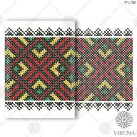 ОП_012 Virena. Обложка на Паспорт (набор 450 рублей)