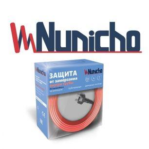 Готовый комплект кабеля NUNICHO Micro  внутрь трубы 10 Вт/м - 8 метров  с вилкой и сальниковым узлом 1/2 и 3/4