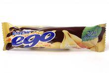 Батончики мюсли банан в шоколаде Ego, 25 г