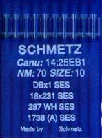 Иглы промышленные для трикотажа Schmetz DBx1 SES №70 10 шт