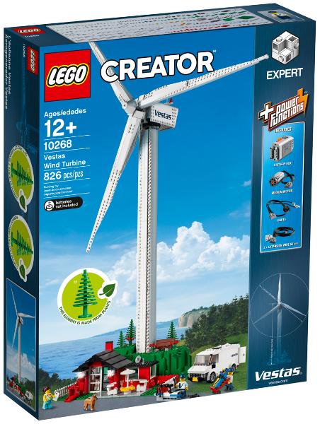 Ветровая турбина Вестас. Конструктор ЛЕГО 10268