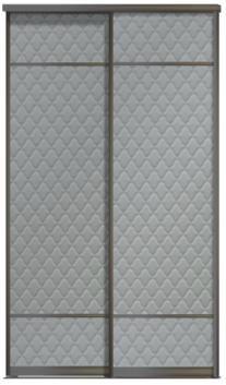 Двери купе - Кожа+Кожа+Кожа, комбинированные
