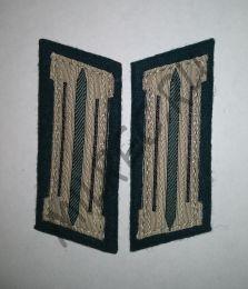 Петлицы, Вермахт, (саперные части) образца 1935 года (реплика)