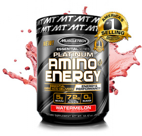 Platinum Amino Plus Energy от MuscleTech 30 порций
