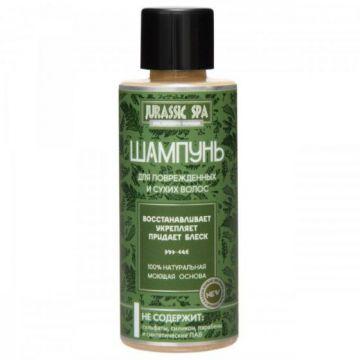 JURASSIC SPA - МИНИПРОДУКТ. Шампунь для сухих и поврежденных волос, 50мл