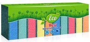 Губка д/посуды Eco Line 10шт Макси
