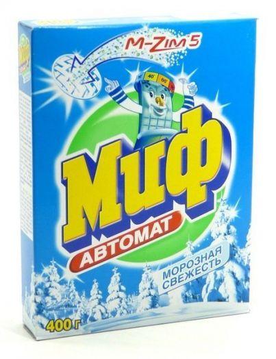 Порошок стир Миф 400г автомат Морозная свежесть