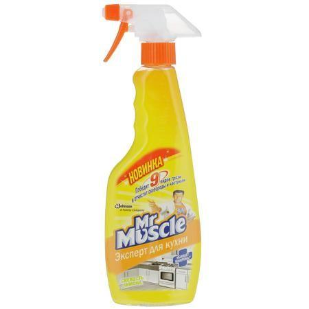 Чистящее средство Мистер-Мускул 450мл д/кух.поверх. Лимон курок фн